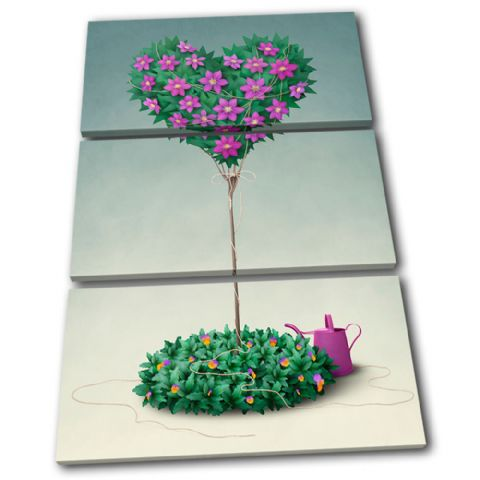 Flower Tree Love - 13-0215(00B)-TR32-PO